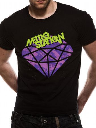 METRO STATION (Diamond) T-shirt Thumbnail 1