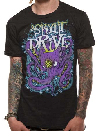 A Skylit Drive (Octopus Dark Heather) T-shirt