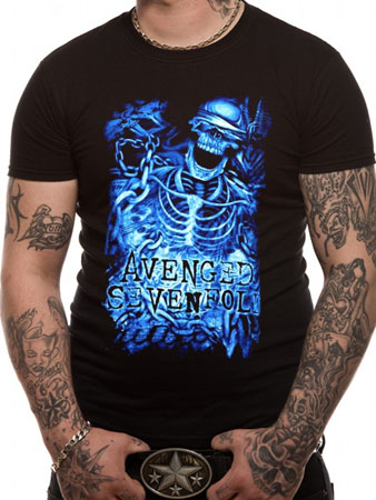 Avenged Sevenfold (Chained Skeleton) T-shirt