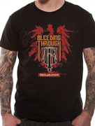 Bleeding Through (Declaration) T-shirt Thumbnail 2