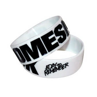 A Day To Remember (Homesick White) Wristband Preview