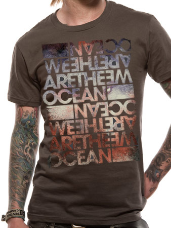 We Are The Ocean (Repeat) T-shirt Thumbnail 1