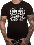 Green Day (Distress Skulz) T-shirt Thumbnail 2