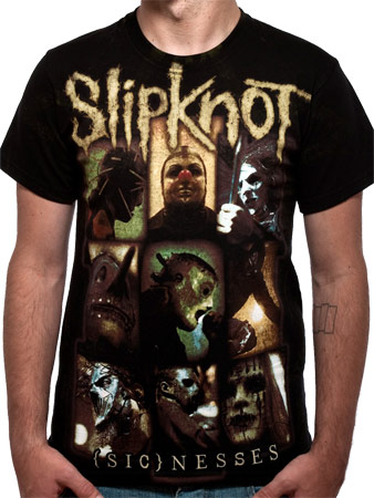 Slipknot (Sicnesses) T-shirt