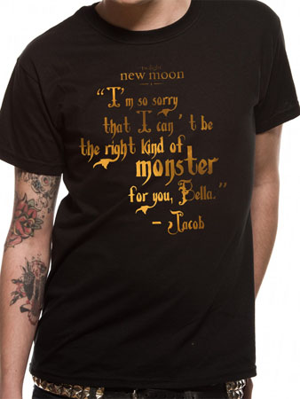 Twilight: New Moon (Monster Quote) T-shirt