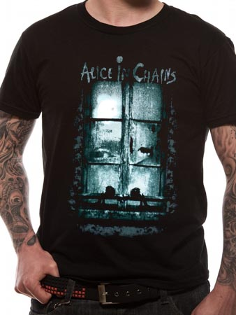 Alice In Chains (Looking In Veiw) T-shirt Thumbnail 1