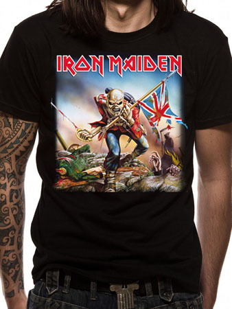 Iron Maiden (The Trooper) T-shirt Thumbnail 1