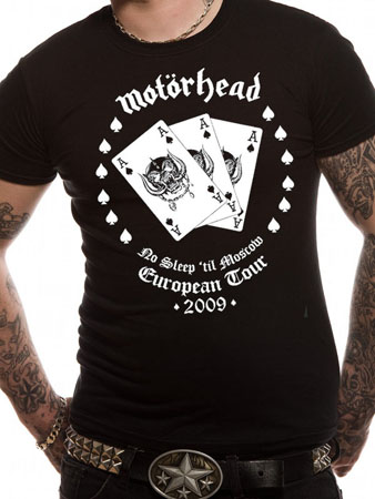 Motorhead (Aces) T-shirt Preview