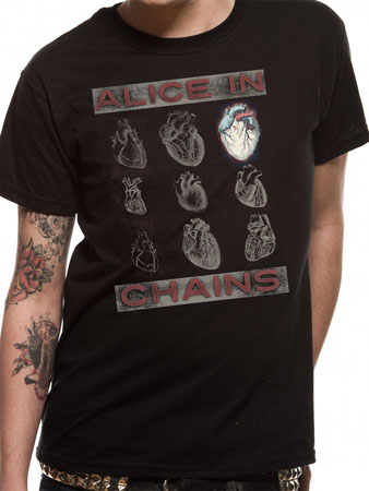 Alice In Chains (Heart) T-shirt