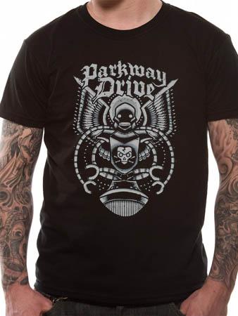 Parkway Drive (Robot) T-shirt Thumbnail 1