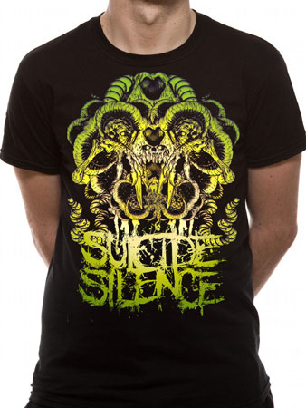 Suicide Silence (Abstract) T-shirt Thumbnail 1