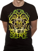Suicide Silence (Abstract) T-shirt Thumbnail 2