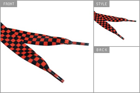 Loud Laces (Checker Board) Shoe Laces Preview