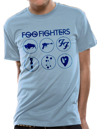 Foo Fighters (Circles) T-shirt