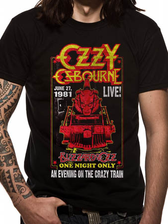 Ozzy Osbourne (Crazy Train) T-shirt