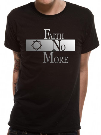 Faith No More (Classic Logo Metallic) T-shirt