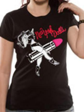 New York Dolls (Cow Girl Rider) T-shirt Thumbnail 2