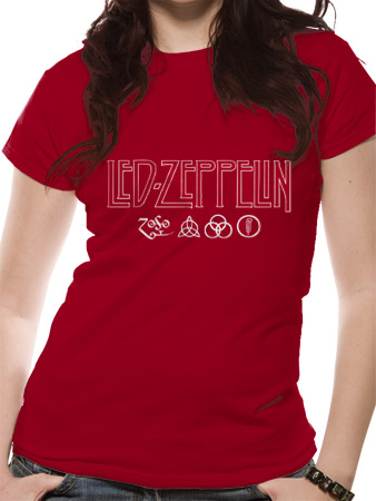 Led Zeppelin (Logo & Symbols) T-shirt