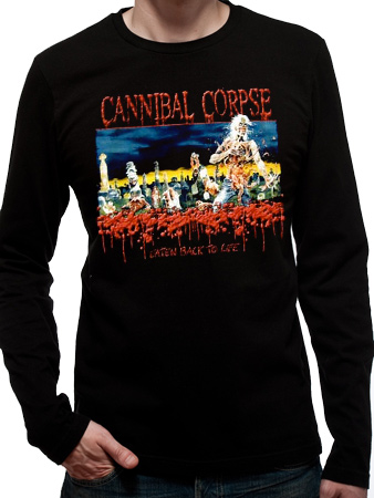 Cannibal Corpse (Eaten Back To Life) Long Sleeved T-shirt