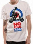 No Use For A Name (Cowboy Scooter) Fitted T-shirt