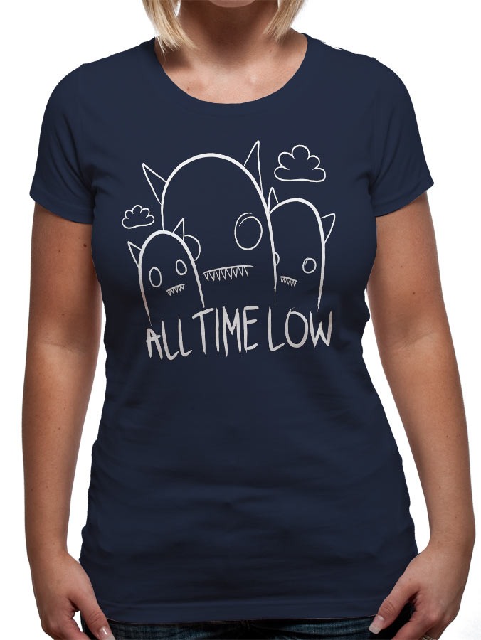 All Time Low (Ghosts) T-shirt