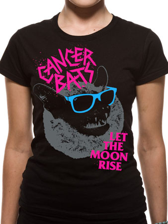 Cancer Bats (Let The Moon Rise) Womens T-shirt