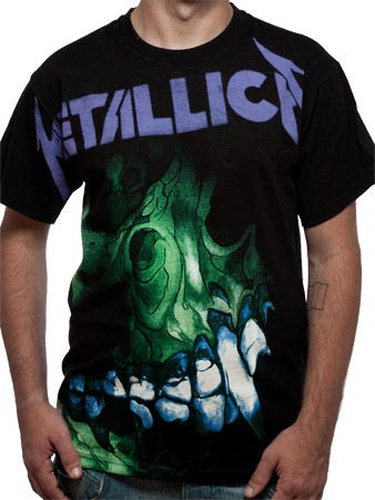 Metallica (Pushead Backdrop) T-shirt