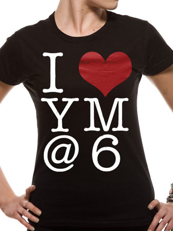 YOU ME AT SIX (I Heart) T-shirt