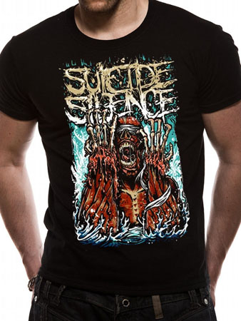 Suicide Silence (Meltdown) T-shirt Preview