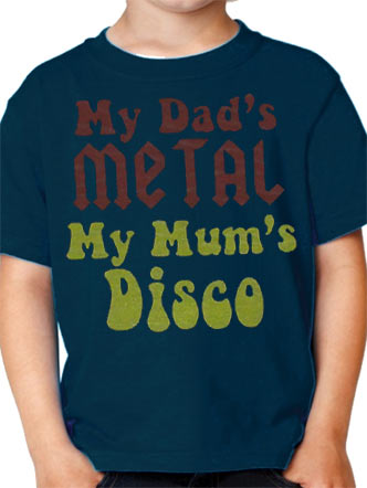 Loud Kids (My Dad's Metal) T-shirt Preview