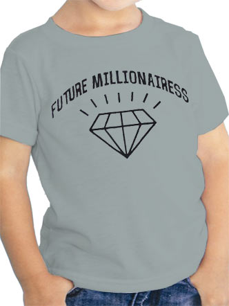 Loud Kids (Future Millionairess) T-shirt Preview