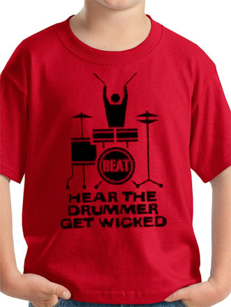 Loud Kids (Hear The Drummer Get Wicked) T-Shirt