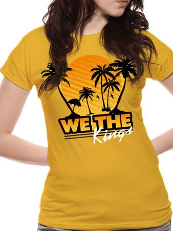 We The Kings (Beach) T-shirt