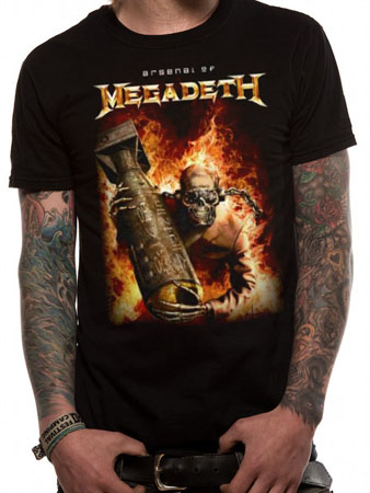 Megadeth (Arsenal) T-shirt