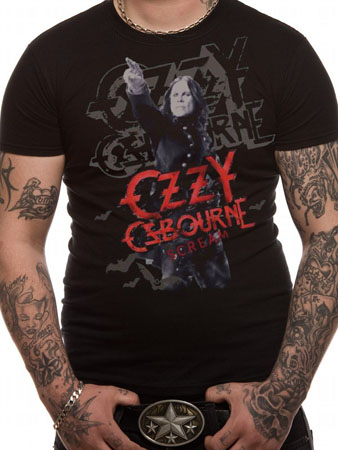 Ozzy Osbourne (Scream) T-shirt