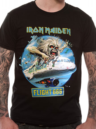 Iron Maiden (Flight 666) T-shirt Thumbnail 1