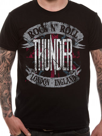 Thunder Rock Roll England T Shirt Tm Shop