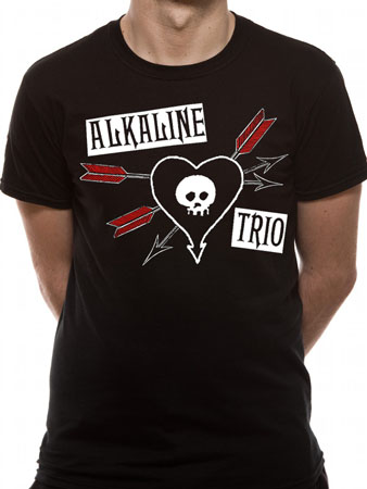 Alkaline Trio (Arrow Heart) T-shirt