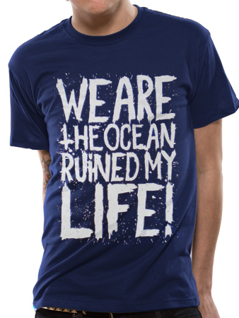 We Are The Ocean (Ruined Blue) T-shirt