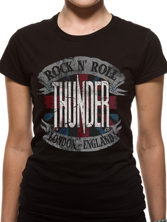 Thunder (Rock & Roll England) T-shirt Preview