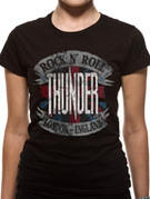 Thunder (Rock & Roll England) T-shirt Thumbnail 2