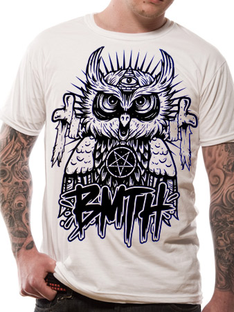Bring Me The Horizon (Owl) T-shirt Thumbnail 1