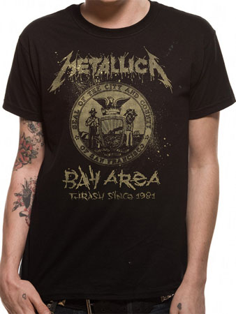 Metallica (Original Crest) T-shirt Preview