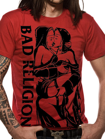 Bad Religion (Naughty Nuns) T-shirt