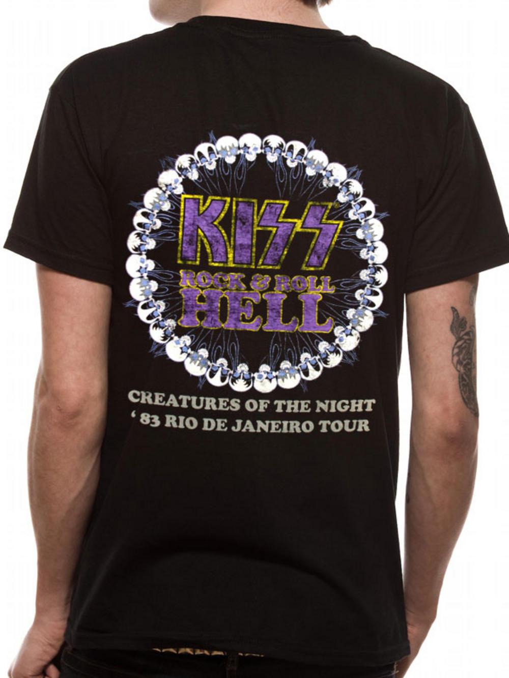Kiss (Creatures Of The Night) T-shirt Thumbnail 2