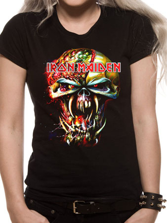 Iron Maiden (Eddie Big Head) T-shirt Preview