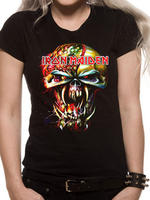 Iron Maiden (Eddie Big Head) T-shirt Thumbnail 1