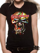 Iron Maiden (Eddie Big Head) T-shirt Thumbnail 2