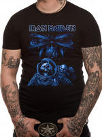 Iron Maiden (Blue Album Spaceman) T-shirt