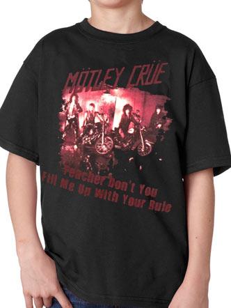 Motley Crue (Playground Bullies) Kids T-Shirt Preview
